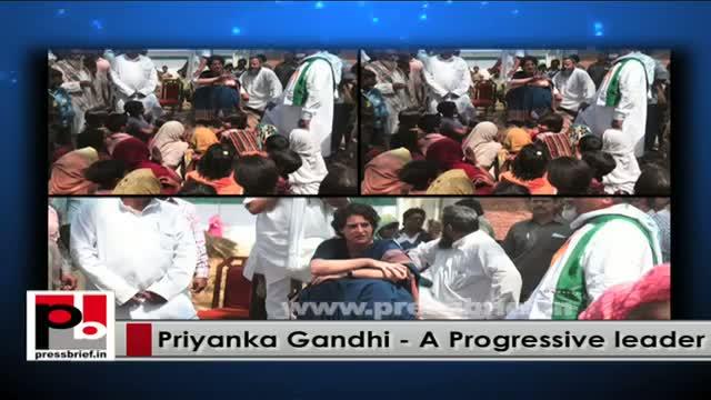Priyanka Gandhi tells Congressmen - Utilise our time in getting closer to the people
