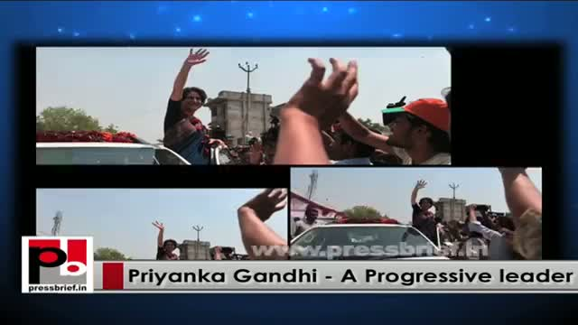 Priyanka Gandhi exhorts Congressmen to fight against Centre's wrong doings
