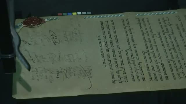 Experts Preserving Israel's Founding Documents Video