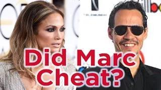 Did Jennifer Lopez Admit Marc Anthony Cheated On Her?