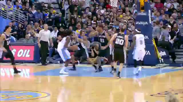 NBA: Kenneth Faried Takes Off for the Major Throwdown