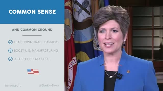 Senator Joni Ernst Delivers the Republican Address to the Nation