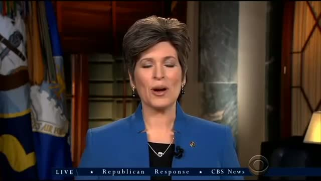 Sen. Joni Ernst Delivers The Republican Response