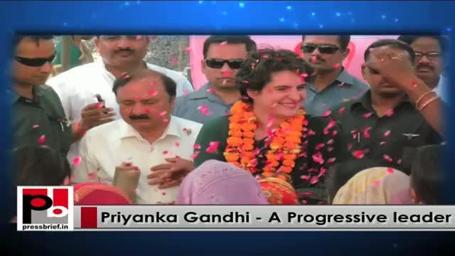 Priyanka Gandhi urges Congressmen to fight for people's rights