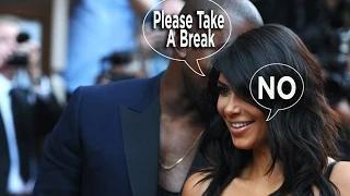 Kanye West Wants Kim Kardashian To Take A Break From Work Video