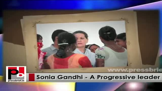 Sonia Gandhi visits Raebareli, assures part-time to look into their grievances