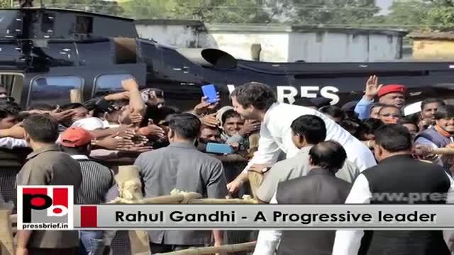 Rahul Gandhi leads Congress protest against 'U-turn' Modi govt
