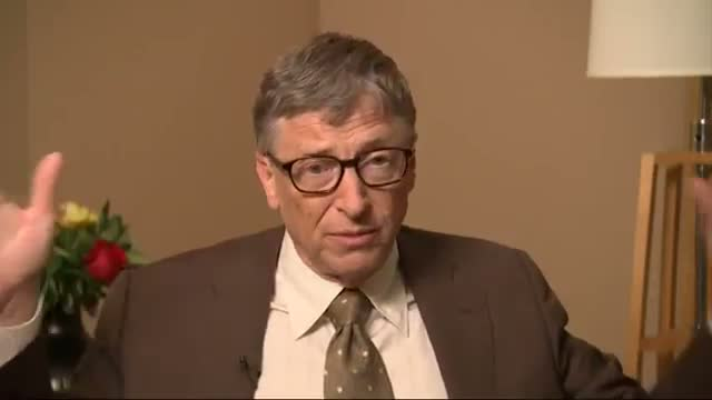 Gates: Improvement Coming for World's Poor