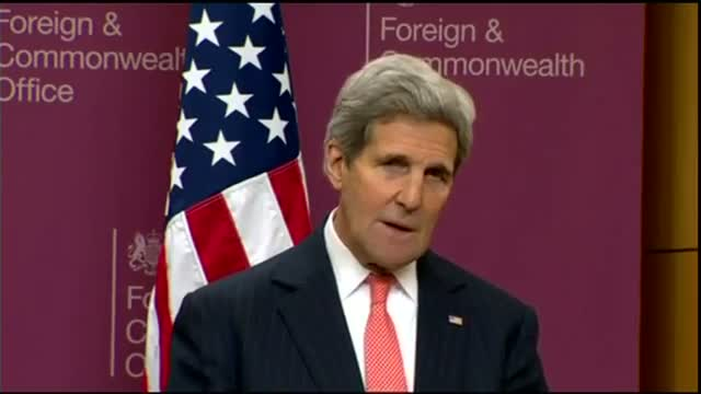 Kerry: Coalition Has Killed Half of IS Leaders Video