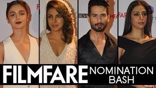 60th Filmfare Awards 2015 Nominations BASH | Priyanka Chopra, Alia Bhatt, Shahid Kapoor Video