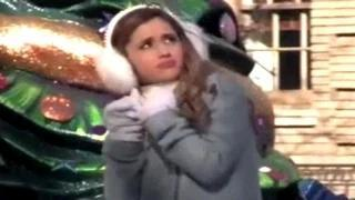 Ariana Grande Gets Almost Hit By A Fan - Ariana Grande Week Video