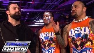 The Usos help Mizdow consider his Royal Rumble Match possibilities