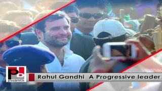 Rahul Gandhi leads Congress protest against 'U-turn' of Central Government