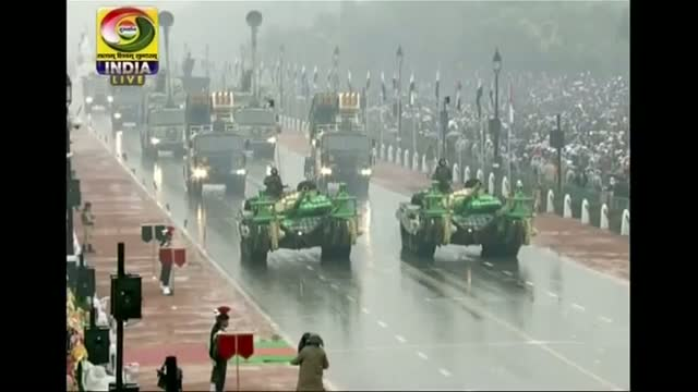 Obama Watches India Republic Day Parade Video