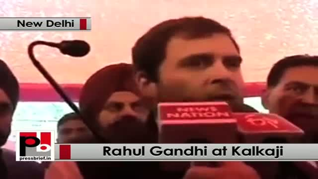 Delhi polls - Rahul Gandhi says PM Modi 'indulging in PR stunts, no work done'