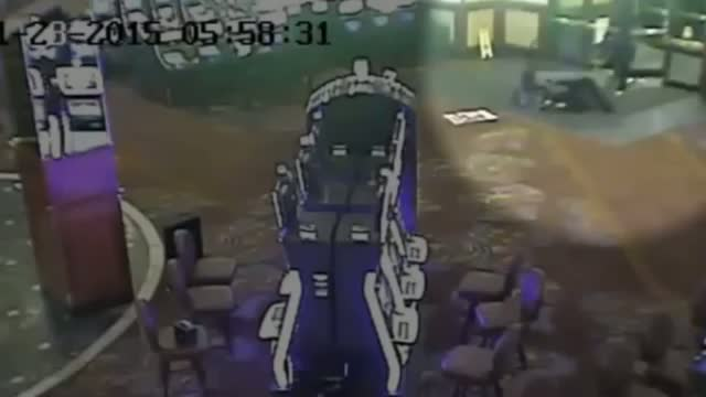 Thieves Storm Calgary Casino, Steal Empty ATM Video