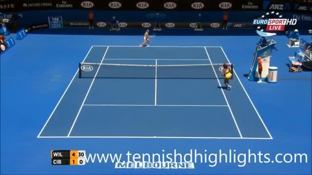 Williams vs Dominika Cibulkova - Highlights - Australian Open 2015 (QF)