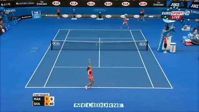 Maria Sharapova vs Ekaterina Makarova - Highlights - Australian Open 2015 (SF)
