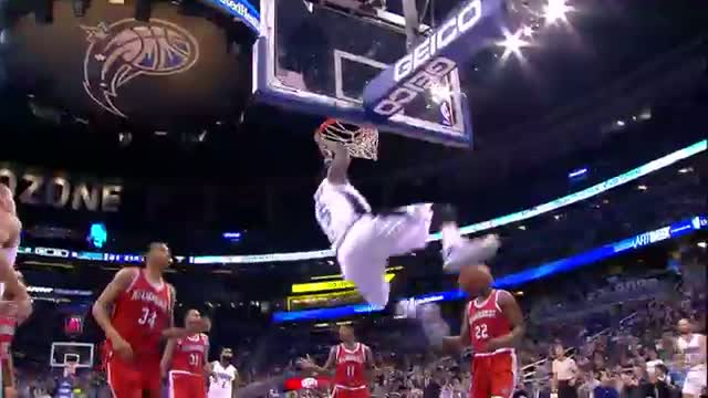 NBA: Oladipo Warming Up for Dunk Contest With This Monster Jam
