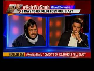 Delhi elections: Arvind Kejriwal says Amit Shah has gagged Kiran Bedi