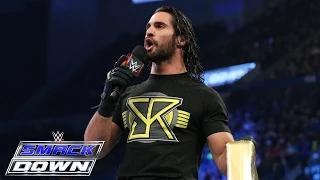 Ryback vs. Seth Rollins: WWE Smackdown, January 29, 2015