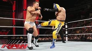 Sin Cara vs. The Miz: WWE Raw, February 2, 2015