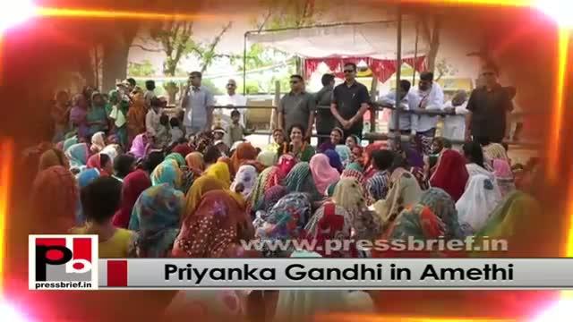 Energetic Congress campaigner Priyanka Gandhi Vadra