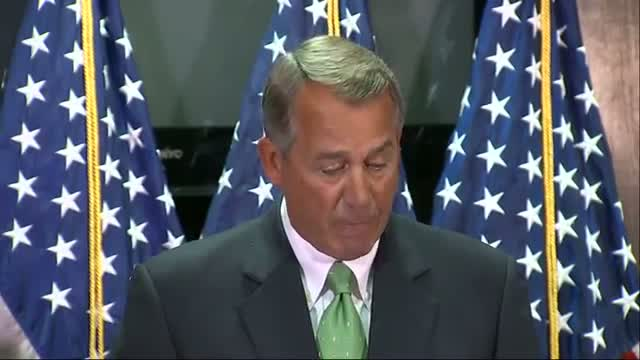 Boehner: 'All Children Ought to Be Vaccinated' Video
