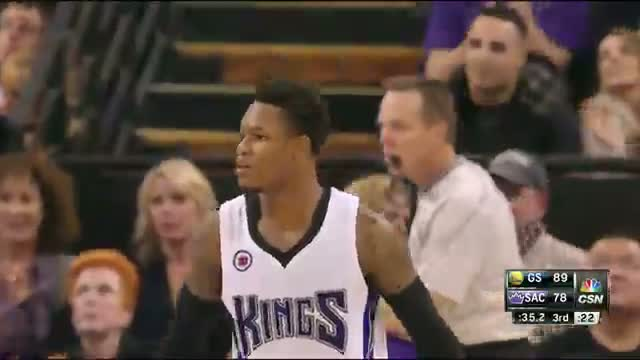 Ben McLemore Brings Down the House with Monster Baseline Slam Video