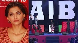 Sonam Kapoor MIFFED With AIB Knockout Question