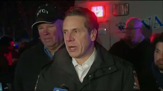 Seven Dead in Fiery NY Train Crash Video