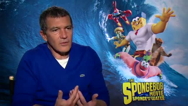 Antonio Banderas Marvels at Magic of Animation Video