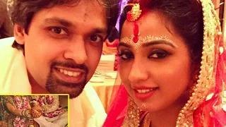 Shreya Ghoshal secret marriage moments with Shiladitya Video