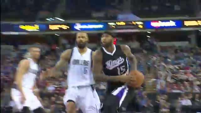 NBA: DeMarcus Cousins Goes Coast-to-Coast for the Smash