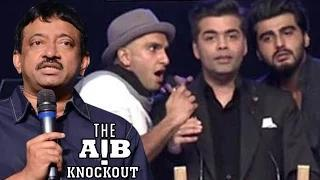 AIB Knockout CONTROVERSY | Ram Gopal Verma's SHOCKING REACTION Video