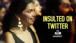 AIB Knockout CONTROVERSY   Deepika Padukone, Sonakshi, Alia, Karan INSULTED on TWITTER Video