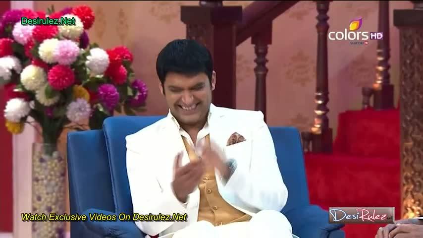 Comedy Nights With Kapil - Amitabh Bachchan, Dhanush and Akshara Haasan - 8th Febuary 2015 - Part 2/4