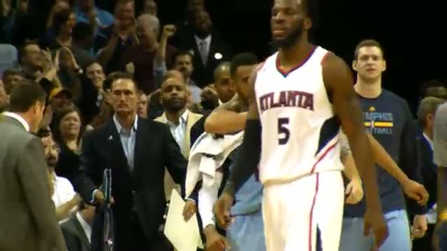 NBA: Mike Conley's Game-Clincher in Phantom Super Slow-Mo