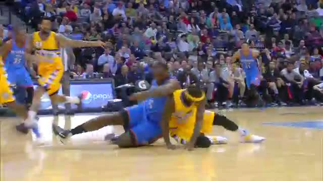 NBA: Kenneth Faried Flies High for the Windmill Jam
