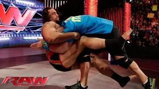 "Rusev and Lana ""honor"" the career of John Cena: WWE Raw, February 9, 2015"