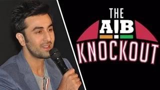 Ranbir Kapoor AGAINST AIB Protest!