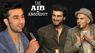 Ranbir Kapoor SUPPORTS AIB Knockout | AIB Knockout CONTROVERSY