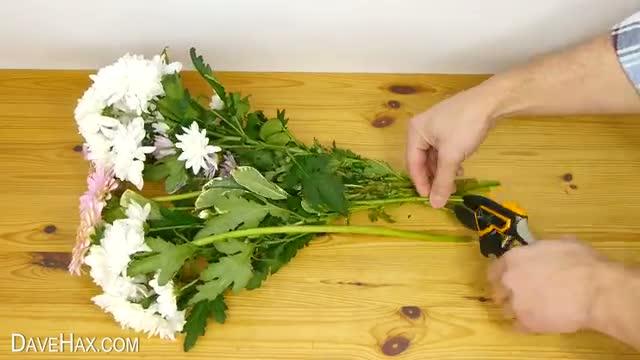 Flower Arranging Trick -Valentines Day Special!
