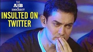 Aamir Khan ABUSED on Twitter for AIB Knockout Roast Reaction | AIB Knockout CONTROVERSY