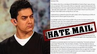 Aamir Khan receives HATE MAIL for critisizing AIB | AIB KNOCKOUT CONTROVERSY Video