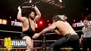 Baron Corbin vs. Bull Dempsey - No Disqualification Match: WWE NXT TakeOver: Rival, Feb. 11, 2015