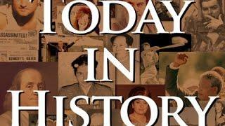 Today in History for February 13th Video