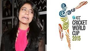 Kajol THROWS ATTITUDE On WORLD CUP Question