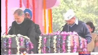 Arvind Kejriwal takes oath as 8th Chief Minister of Delhi