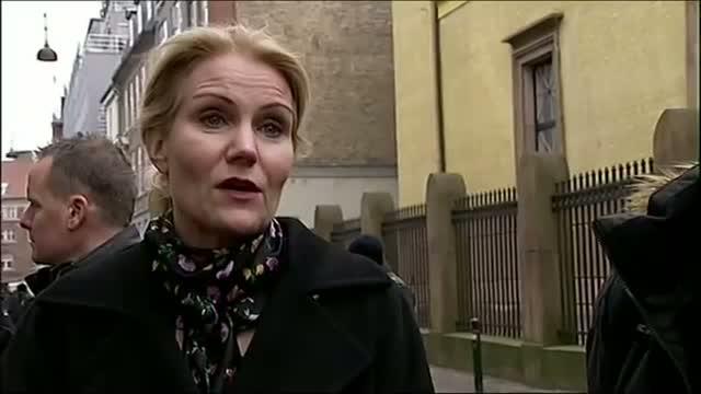 Danish Prime Minister Visits Synagogue